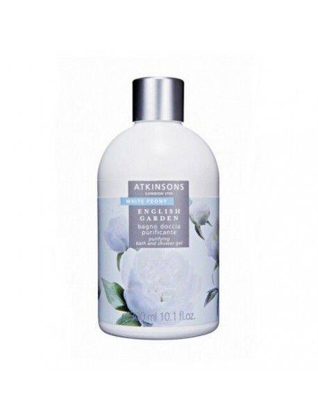 Atkinsons English Garden WHITE PEONY Bagno Doccia Purificante 300ml 8002135105256
