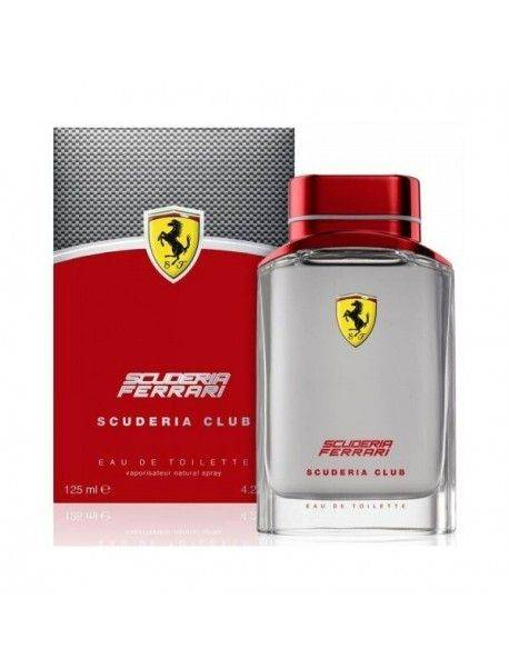 Ferrari SCUDERIA CLUB Eau de Toilette 125ml 8002135114722