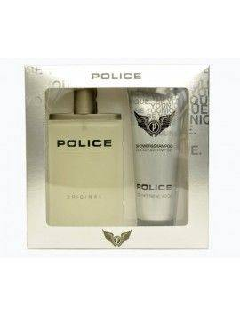 Police ORIGINAL Gift Set Eau de Toilette 100 ml Spray + Shower Gel 100ml