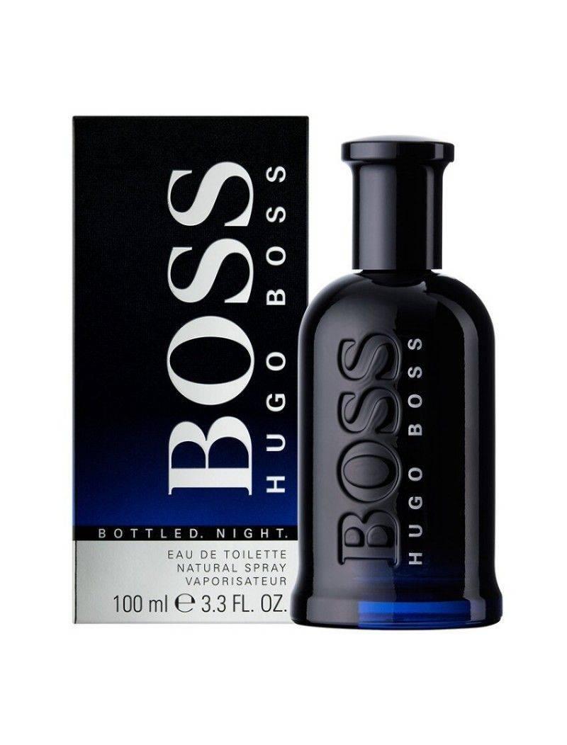 hugo bottled eau de toilette 100ml bossbottlednight100