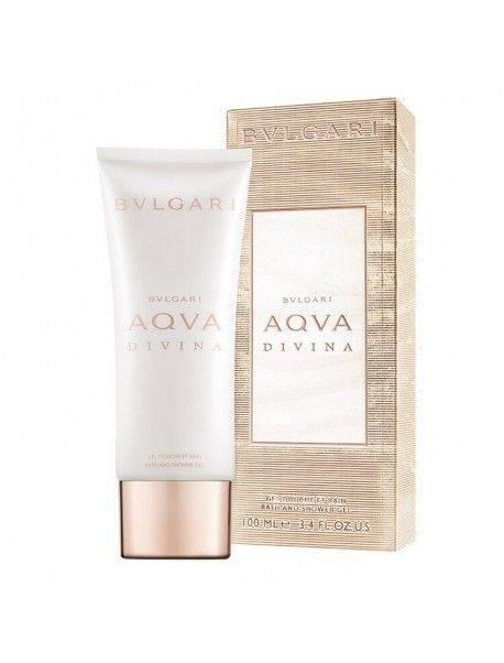 Bulgari AQUA DIVINA Pearly Bath & Shower Gel 100ml 0783320485206