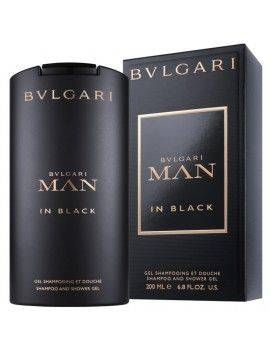Bulgari MAN IN BLACK Shampoo & Shower Gel 200ml