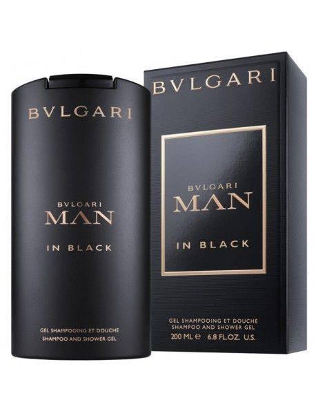 Bulgari MAN IN BLACK Shampoo & Shower Gel 200ml 0783320975714